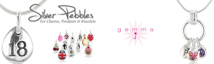 Gemma J Pebble Charms