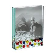 Spaceform Large Multicoloured Hearts Frame