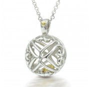 Sphere Of Life ' Ring My Bell ' Pendant