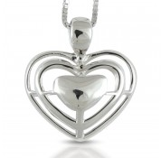 Sphere Of Love 'Open Up Your Heart' Pendant