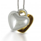 Sphere Of Love ' Two Become One' Pendant