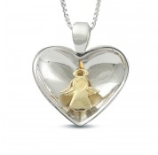 Sphere Of Love ' Angel In My Heart ' Pendant
