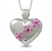 Sphere Of Love '  Bloom In Pink ' Pendant