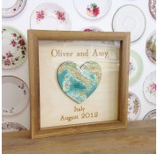 Personalised Bespoke Map Heart