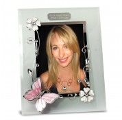 "Personalised Butterfly 6x4"" Photoframe"