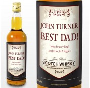 Personalised Classic Label Scotch Whisky