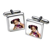 Square Photo Cufflinks