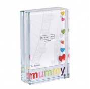 Spaceform Dinky Mummy Colourful Hearts Frame
