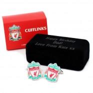 Personalised Liverpool FC Cufflinks