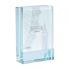 Spaceform Dinky Frame - My Baby Feet Blue