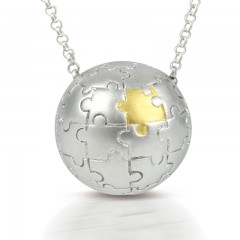 Sphere Of Life ' My Missing Peace ' Pendant