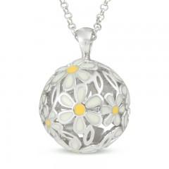 Sphere Of Life ' Daisies' Pendant