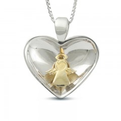Sphere Of Love ' Angel In My Heart ' Pendant