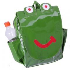 Fun Green Frog Backpack