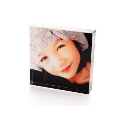 Your Photo On A Acrylic PhotoBlock  - 4x4""