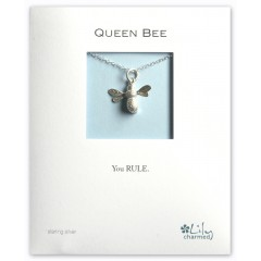 Queen Bee - Charm Necklace By Lily Charmed
