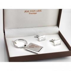 Jos Von Arx - Prestige Collection -  Personalised Cufflinks & Keyfob - Gift Set