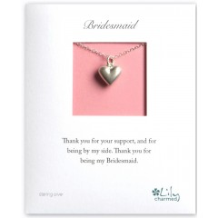 Flower Girl Thank You Necklace By Lily Charmed