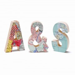 Personalised Map Letters