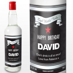Personalised Classic Label Vodka