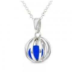 Sphere Of Life 'Cute' September Birthstone - Blue Agate