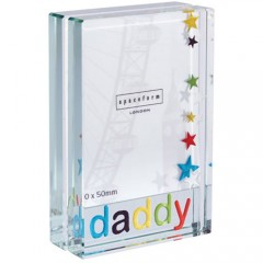 Spaceform Dinky Daddy Colourful Stars Frame