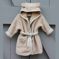 Natures Purest - Teddy & Ele Organic Cotton Bathrobe