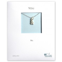 & Letter Charm Necklace By Lily Charmed